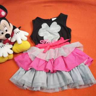Auth Disney Minnie mouse Tutu dress