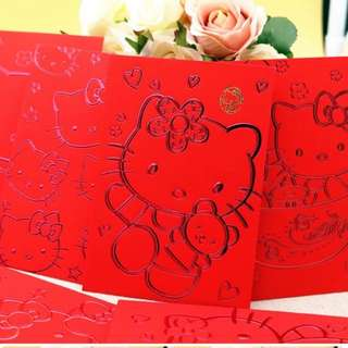 Limited edition hello kitty red packet