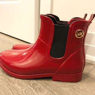Authentic Michael Kors Rain Boots
