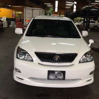 Toyota Harrier 2011