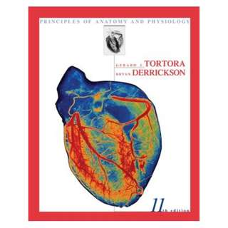 Tortora's Principles of Anatomy and Physiology Book