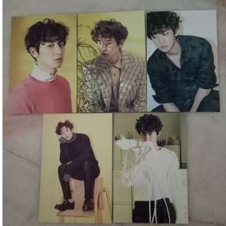 EXO chanyeol postcard