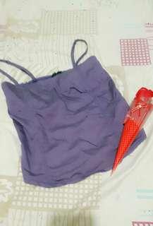 Violet crop top