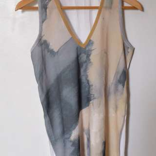 Zara Sleevless top