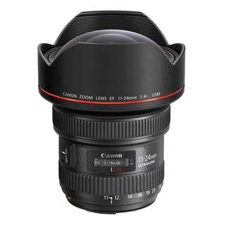 NEW - Canon EF 11-24mm f4 L USM