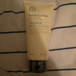 Mango seed cleansing foam
