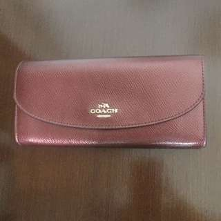 Coach slim wallet (red)