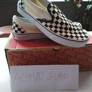 Sepatu vans original checkerboard