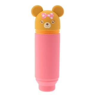 Japan Disneystore Disney Store Unibearsity Pudding CHEER UP Pencil Case Pen Stand Preorder