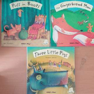 3 Children English story books, suitable for 3-8 age