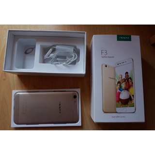 OPPO F3 SELFIE SERIES FOR SALE