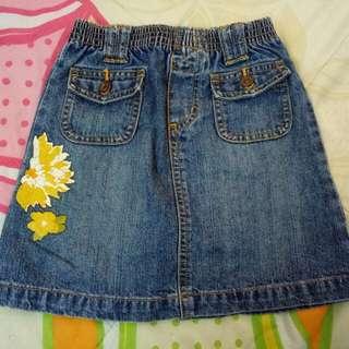 Jeans Skirt Poney