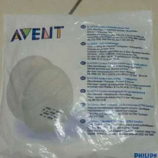 avent disposable breast pad