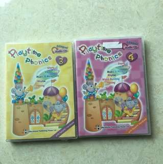 Playtime phonics CD