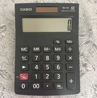 Casio Calculator (Model: MZ-12S Two Way Power)