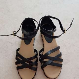 Charles & Keith wedge Sandals