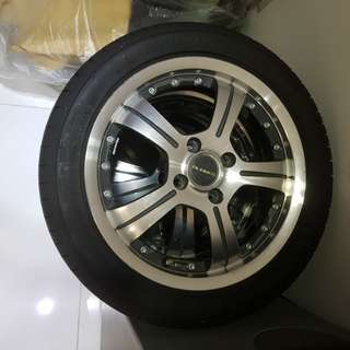 Used Rims and Tyres