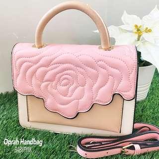 Rose Leather Handbag