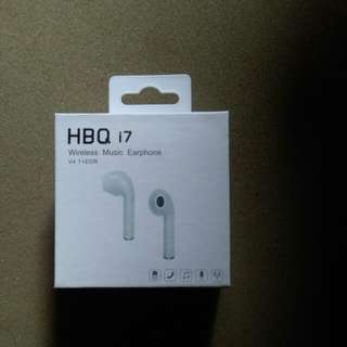 Unique Earphone HBQ 17 in Ear Wireless Headset Bluetooth