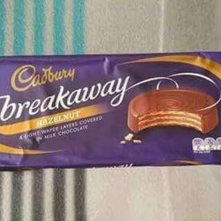 cadbury breakaway