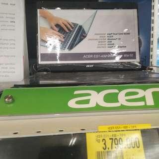 Laptop Acer ie1432c8zp bisa dicicil cepat