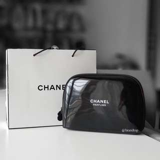 Authentic Chanel Parfums Zip Pouch
