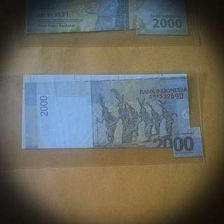 Error Ina Bank note