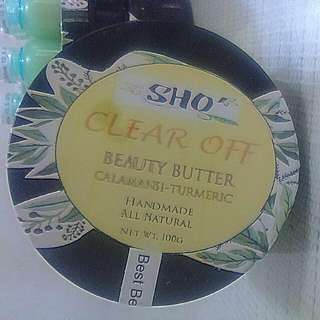 MKAY ORGANICS CLEAR OFF FACE & BODY BUTTER