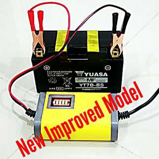 BESTSELLER MOTORCYCLE BATTERY CHARGER