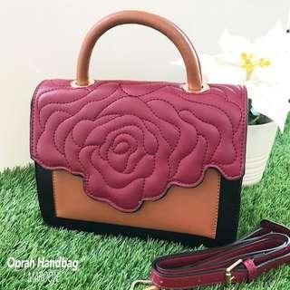 Rose Leather Handbag Rose Leather Handbag