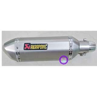 Akrapovic Muffler Motorcycle Exhaust Universal Ekzos