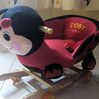 2 in 1 Rocking Chair Ladybird