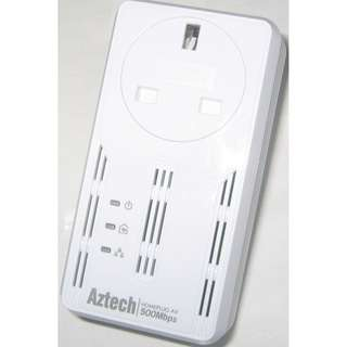 Aztech HL117EP Homeplug with AC Passthrough  (only a single unit)