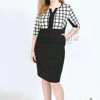 Corporate Plus Size Dress