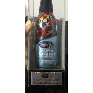 Tiger Limited Edition F1 2012 Bottle