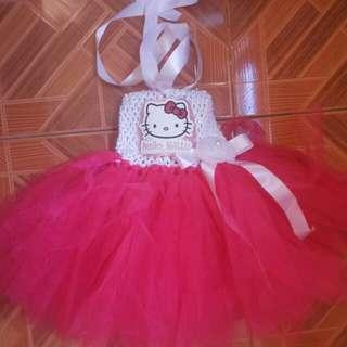 Tutu Dress( Hello Kitty )