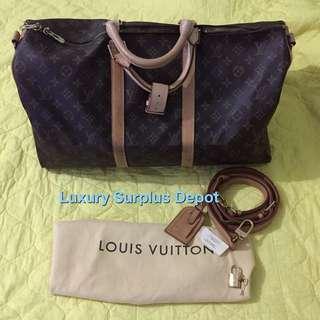 Louis Vuitton Monogram Keepall size 50