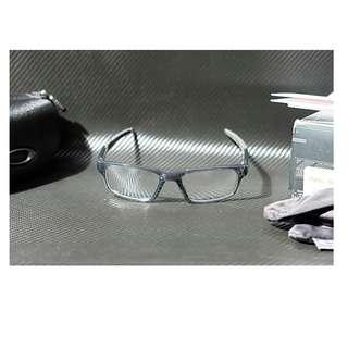 Original kacamata baca Oakley Crosslink Pitch grey smoke (52) new fullset