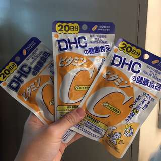 DHC 維他命C ($35 for 3)