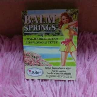 TheBalm Balm Springs Long Wearing Blush 0.8g