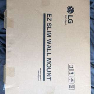 LG TV ez slim wall mount