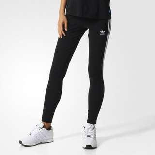 Adidas運動緊身褲 內有刷毛
