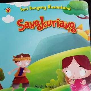 Dongeng Sangkuriang Boardbook