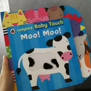 Baby touch book