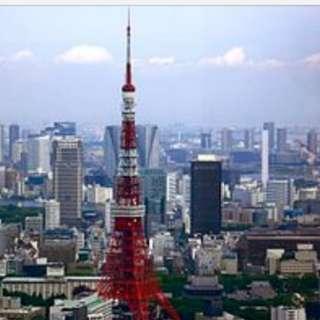 1x return flight air ticket to Japan on JAL