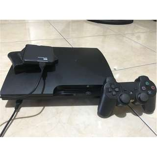 PS 3 Ode Slim 160 GB + HDD Eksternal 500 GB (Full Game)