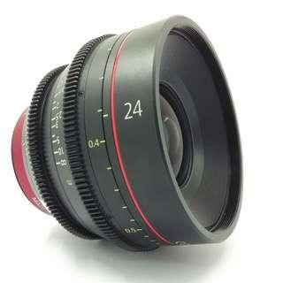 Canon Cine Lens CN-E 24mm T1.5L F