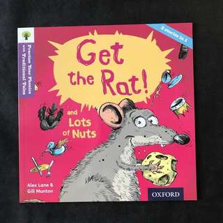 💥NEW- Practise Your Phonics with Traditional Tales - Get the Rat (Level 1) - Children Storybooks