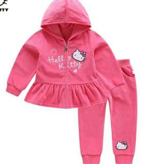 AUTHENTIC Hello Kitty Pink Jacket set