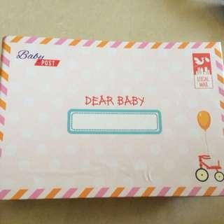 Baby album photo book baby post moments envelope